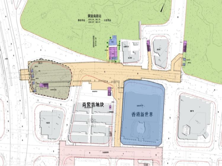 [上海]地铁车站项目大临设施施工方案_1